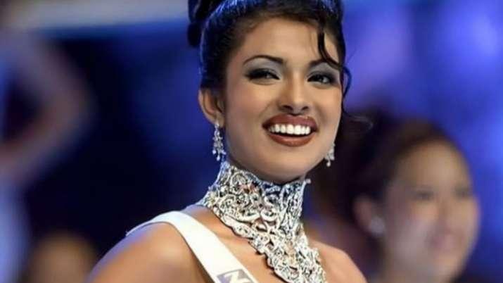 Priyanka Chopra celebrates 20 years of being crowned Miss World