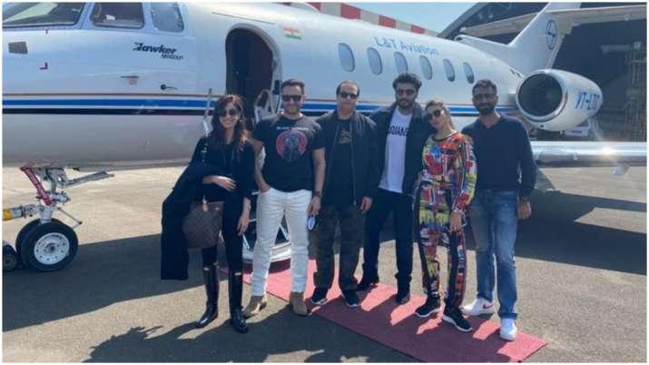 Saif Ali Khan, Jacqueline Fernandez, Yami Gautam, Arjun Kapoor start shooting for Bhoot Police