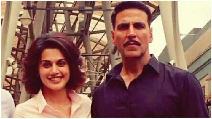 Akshay Kumar replies to Taapsee Pannu's disappointment on Laxmmi Bomb not opening in theatres