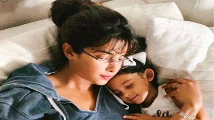Priyanka Chopra says 'missing home' as she cuddles with her niece