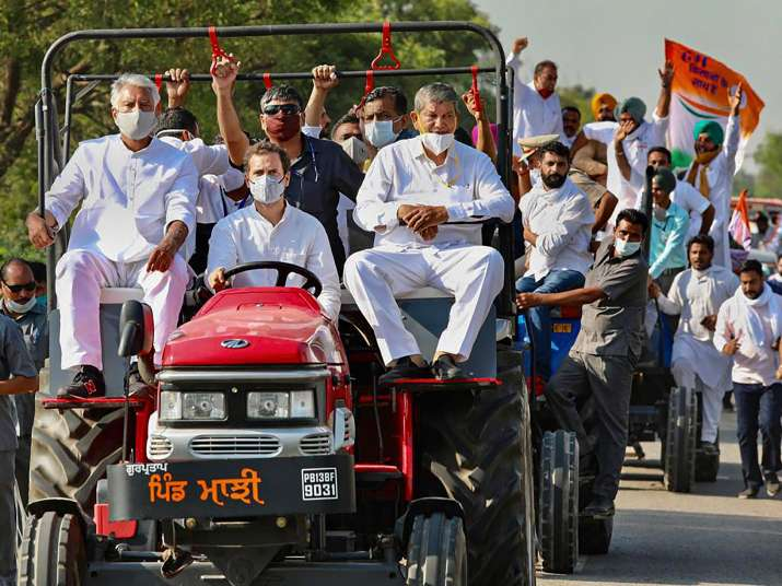 Rahul Gandhi counters with PM Modi plane jibe day after trolled for cushion on tractors