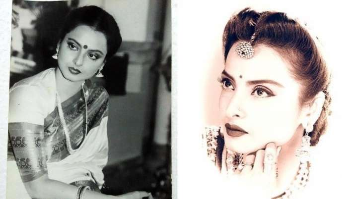 India Tv - rekha birthday unseen pictures