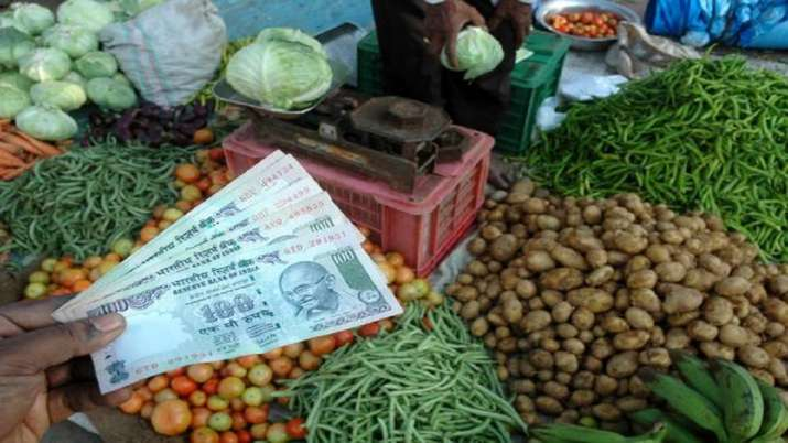 Rising food prices pushed retail inflation to an