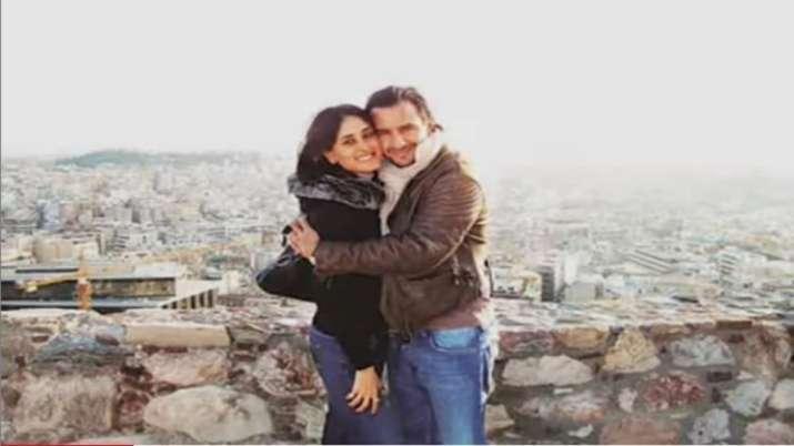 "Kareena Kapoor shares 12 years old throwback pic with hubby Saif Ali Khan, calls him ""my love"""