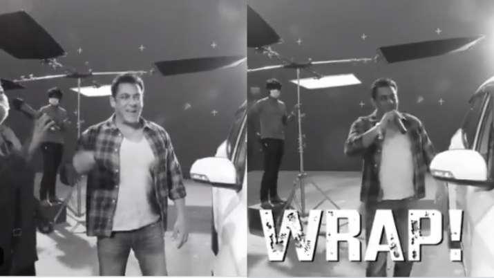 It's a wrap for Salman Khan, Disha Patani starrer 'Radhe' shoot schedule