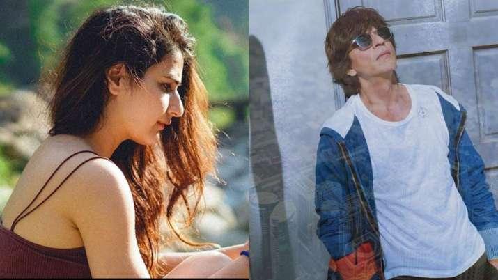 """Shah Rukh Khan's co-star Sana Fatima Sheikh calls him """"Mera pyaar"""", talks about stalking him"""