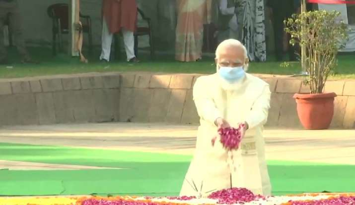 mahatma gandhi, gandhi jayanti, pm modi tributes gandhi jayanti, president kovind, mahatma gandhi bi