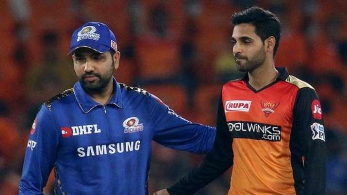 IPL 2020   Advantage Mumbai Indians as SRH fear Bhuvneshwar Kumar's absence    Cricket News – India TV