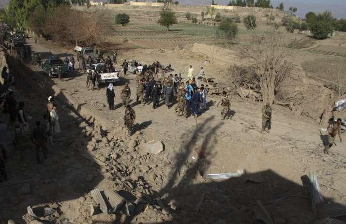 Suicide car bomb targets Afghanistan governor Rahmatullah Yarmal, kills 8