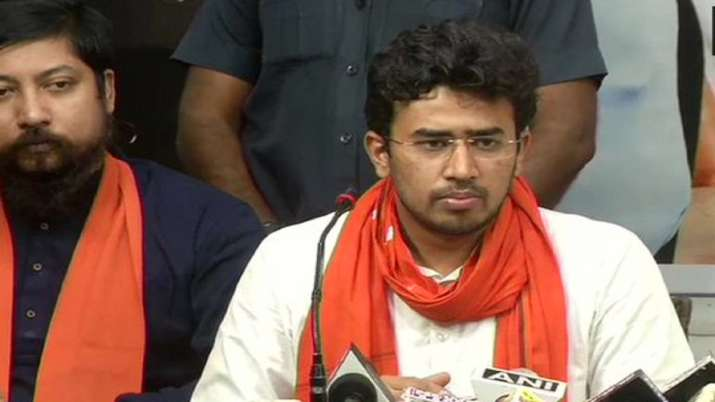 Bhartiya Janata Party MP Tejasvi Surya