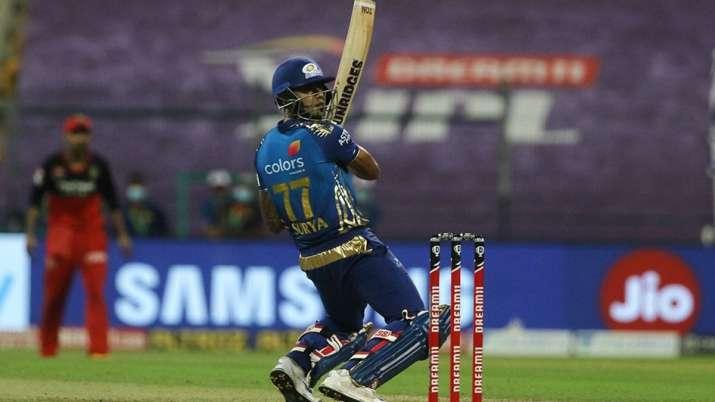 Suryakumar Yadav during IPL 2020