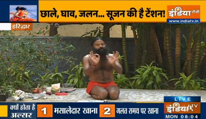Try these effective yoga asanas by Swami Ramdev to treat stomach ulcers