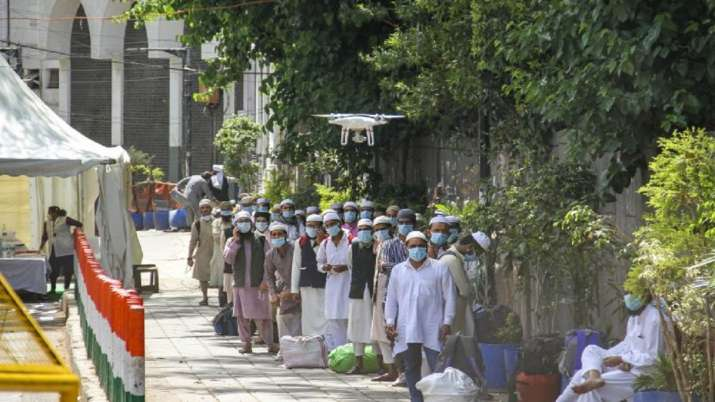 The Tablighi Jamaat event in March was blamed for the