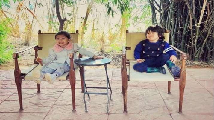 This is how Kareena, Soha's kids Taimur Ali Khan and Inaaya are celebrating Halloween