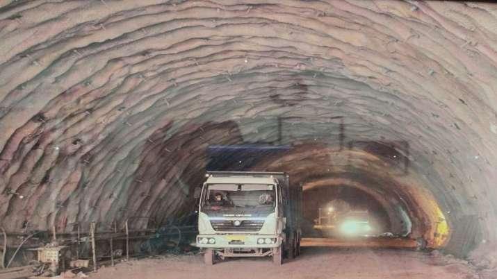 Railways tunnel, Indian Railways, Kashmir, tunnel