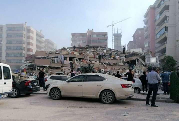 Massive earthquake in Aegean Sea jolts Turkey, Greece