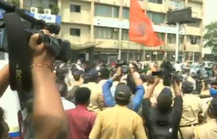 Siddhivinayak temple protests