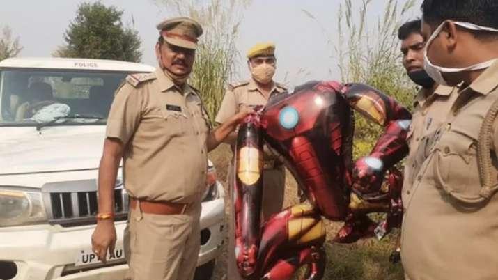 Iron Man shaped balloon triggers panic of alien invasion in Greater Noida