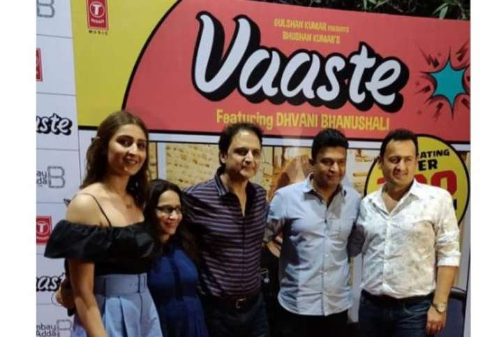 Pop single 'Vaaste' crosses 1-Billion mark