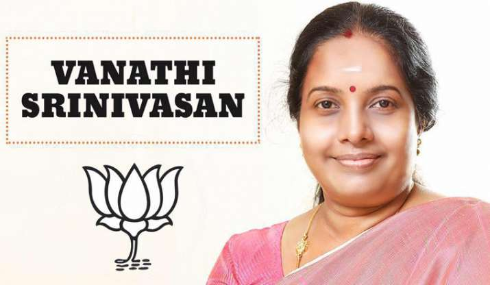 Vanathi Srinivasan appointed BJP Mahila Morcha chief
