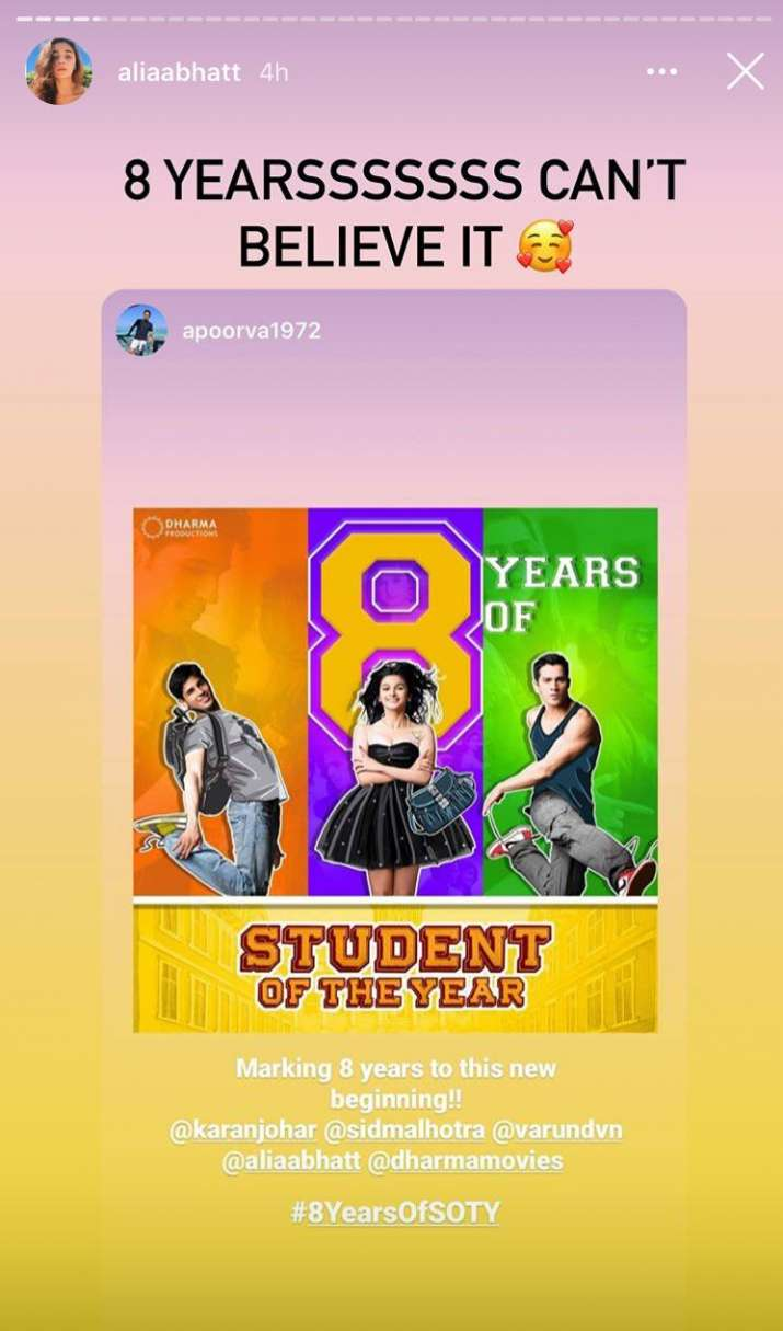 India Tv - Alia Bhatt, Student of the year