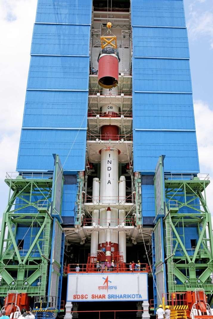 India Tv - Isro launch today, ISRO mission launch PSLV-C49 EOS-01, isro launch pslv, isro satellite launch toda