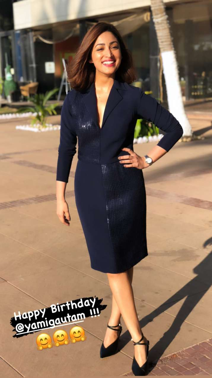 India Tv - Actor Vicky Kaushal, Yami