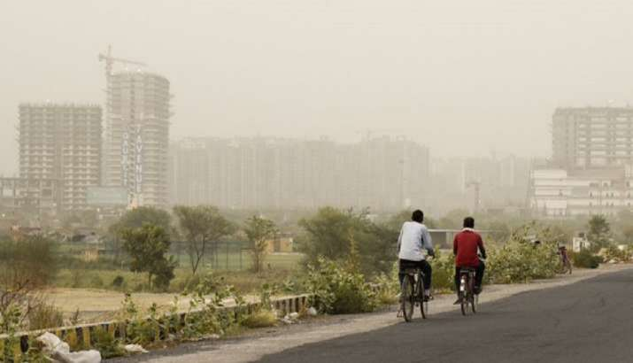 Air quality poor, noida air quality, ghaziabad air quality, gurgaon air quality, faridabad air quali