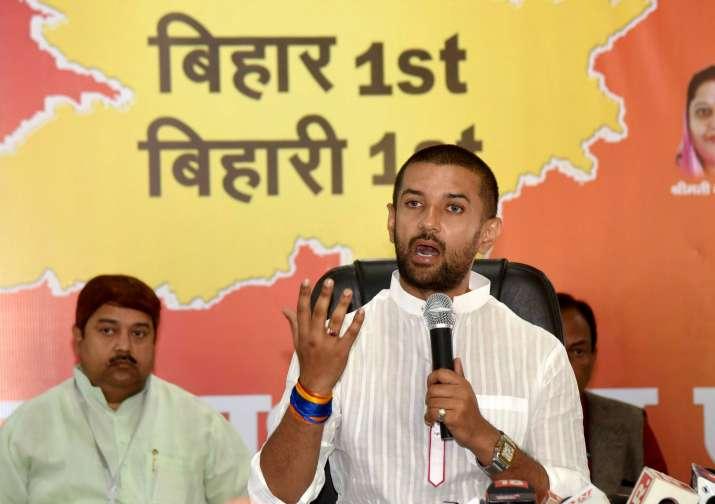 LJP wins one seat, LJP one seat, LJP seat winner matihani, winning margin 500 votes, bihar results,