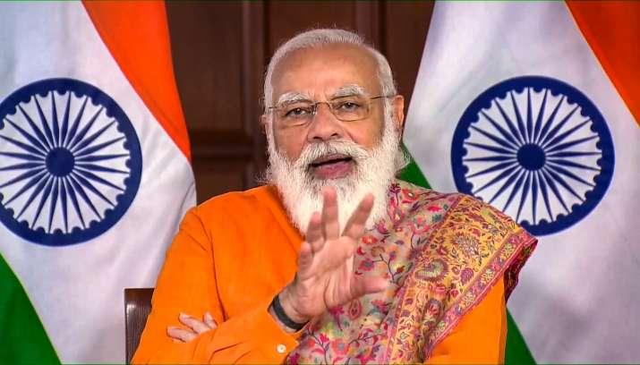 PM Modi inaugurates Ro-Pax ferry service between Surat and Ghogha in Gujarat