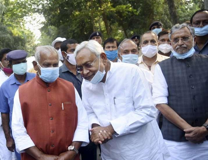 Bihar, nitish kumar, nda legislature party meeting,