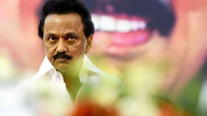 DMK president and Leader of the Opposition in the Tamil Nadu Assembly M K Stalin