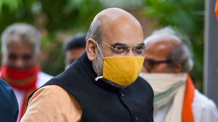 Narendra Singh Tomar, Piyush Goyal meet Amit Shah to discuss farmers protest issue