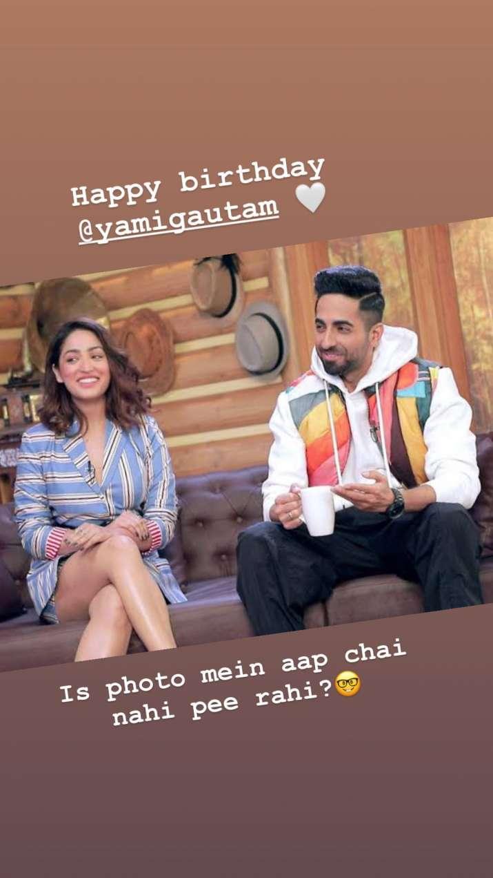 India Tv - Yami Gautam, Ayushmann Khurrana, Instagram