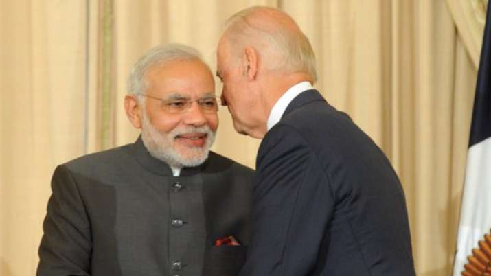 pm modi congratulates joe biden kamala harris, joe biden kamala harris us presidential election, us