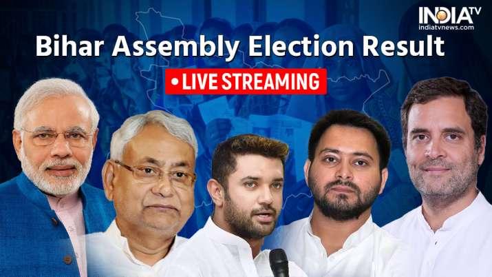 bihar assembly election result 2020, bihar election result, bihar election result live streaming, bi