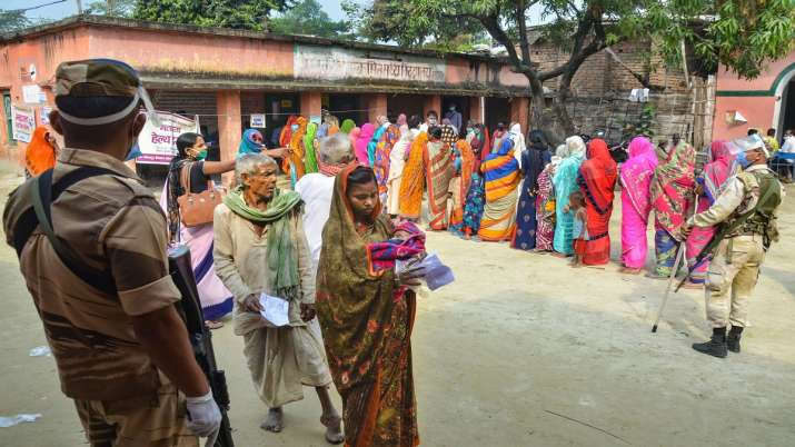 Bihar Election 2020, Bihar Assembly Election second phase polling