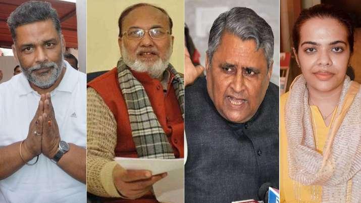 Pappu Yadav, Abdul Bari Siddiqui, Vijay Kumar Chaudhary,