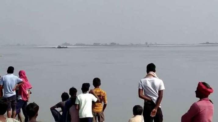 Boat capsize bhagalpur bihar, bhagalpur bihar, boat capsizes in bhagalpur bihar, rescue operations,