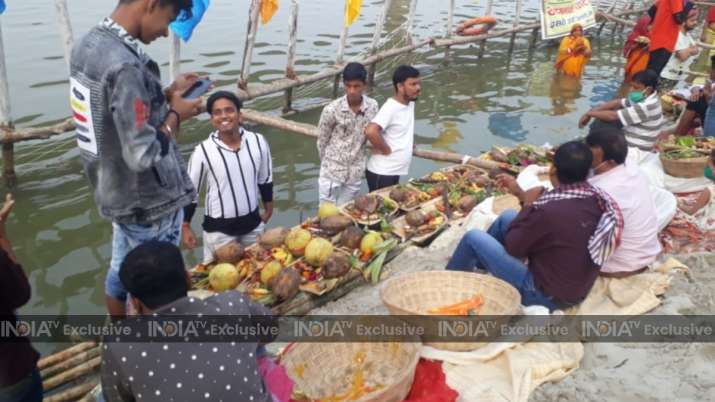 India Tv - patna chhath puja 2020