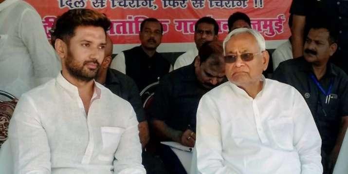 LJP chief Chirag Paswan and Bihar CM Nitish Kumar