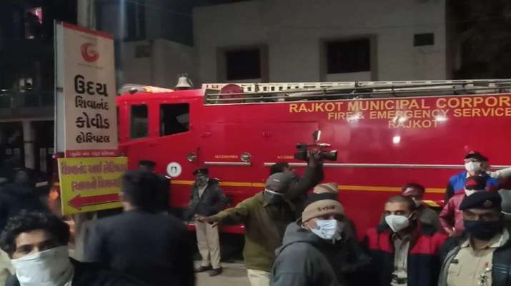 Gujarat: 5 COVID-19 patients killed as fire breaks out at Rajkot hospital |  India News – India TV