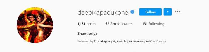 India Tv - 13 years of Om Shanti Om: Deepika Padukone changes her name and display pic to Shantipriya