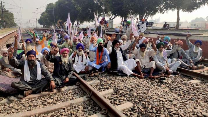 Agitating Punjab farmers agree to allow passenger train movement from Nov 23