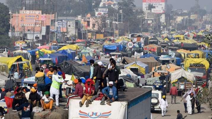 Farmers protest, Singhu border, Delhi Chalo agitation