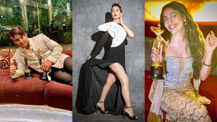 Gold Awards 2020: Sidharth Shukla, Hina Khan to Surbhi Chandna, list of TV celebs who won big