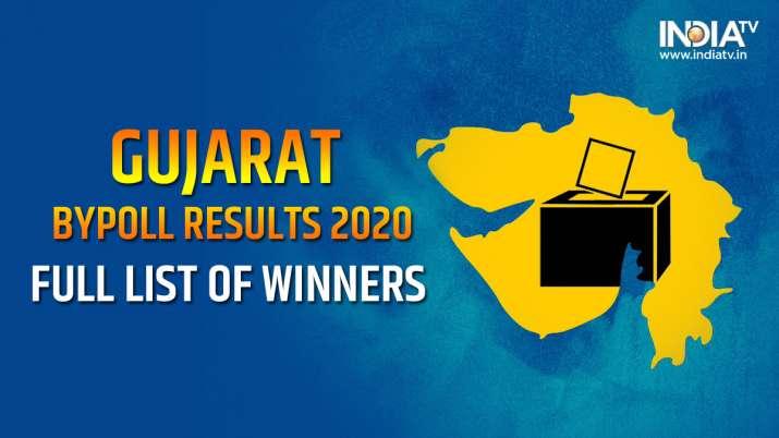 Gujarat Bypoll Results 2020: Full list of winners