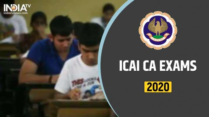 ICAI CA November Exams 2020