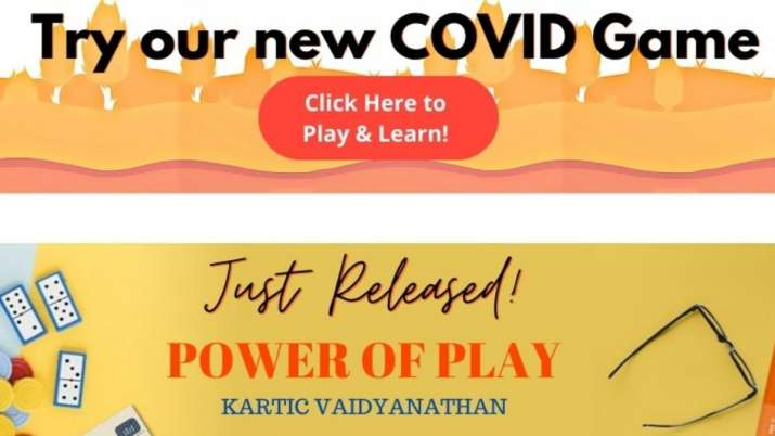 iit, indian institute of technology, iit madras, iit madras develops game for covid 19 awareness, co