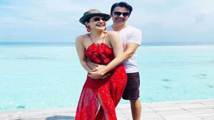 Kajal Aggarwal And Gautam Kitchlu sizzle in their Maldives honeymoon pics